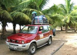 rondreis door Ghana met terreinwagen en chauffeur