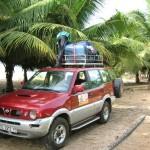 Vertrek rondreis bij ayikoo beach house ampenyi