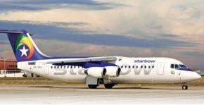 Binnenlandse vlucht met Starbow of F540 naar Tamale
