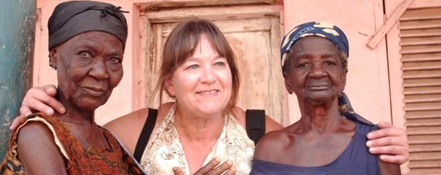 Oude dames Ghana