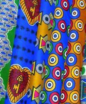 Traditionele stof uit Ghana